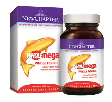 New Chapter Whole Mega 1000mg Softgels