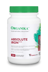 Organika | Absolute Iron | Vegetarian Capsules
