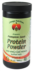 Omega Nutrition Certified Organic Pumpkin Seed Protein Powder - Body Energy Club