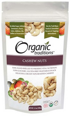 Organic Traditions Cashew Nuts