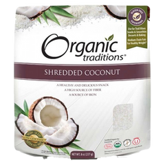 Organic Traditions Shredded Coconut | Whole Foods | Organic Traditions
