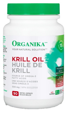 Organika Krill Oil 500mg - Body Energy Club