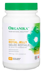 Organika Royal Jelly 1000mg Softgels - Body Energy Club