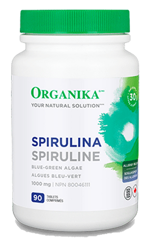 Organika Spirulina 1000mg 90 Tablets