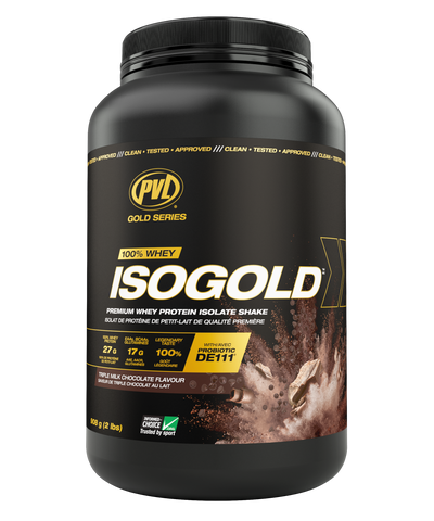 PVL Iso-Gold Protein 900g | Whey Protein Isolate | PVL