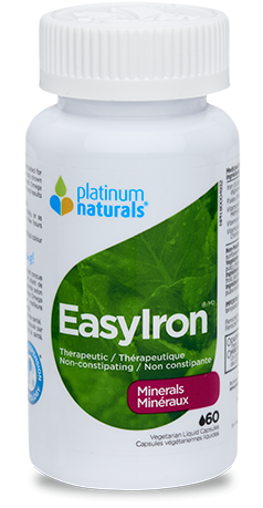 Platinum Easy Iron Capsules 60 softgels