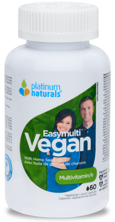 Platinum Naturals Easymulti Vegan Capsules - Body Energy Club