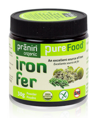 Pranin Organic PureFood Iron - Body Energy Club