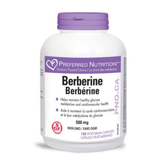 Preferred Nutrition Berberine 500mg - Body Energy Club