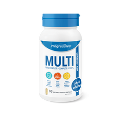 Progressive Adult Men Multi Vitamin Vegetable Capsules | Multi Vitamins | Progressive