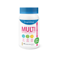 Progressive Active Women Multi Vitamin Vegetable Capsules | Women's Multivitamins | Progressive