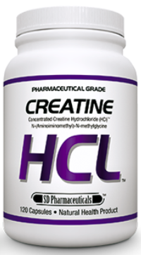 SD Pharmaceuticals Creatine HCL 120 cap