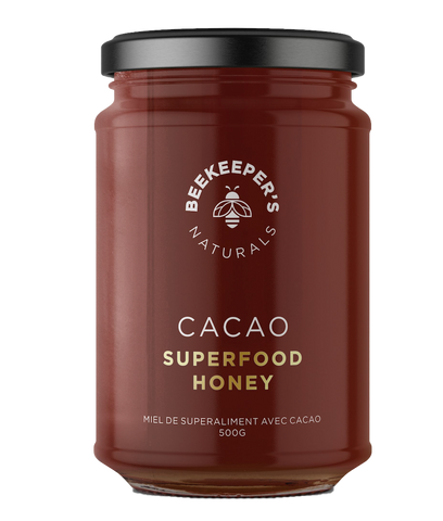 Beekeeper's Naturals Cacao Honey - Body Energy Club