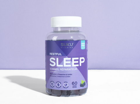Suku Vitamins | Restful Sleep | 60 Gummies