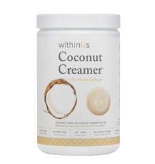 WithinUs | Coconut Creamer + TruMarine Collagen
