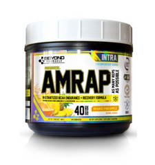Beyond Yourself AMRAP 400g lemon lime peach mango orange pineapple strawberry kiwi blue freeze pomegranate blueberry coconut breeze