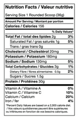 Athletic Alliance Hydro Pro 2 LBS Chocolate Nutrition Facts