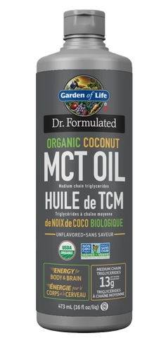 Garden Of Life Dr. Formulated Coconut MCT Oil | MCT Oil | Garden Of Life