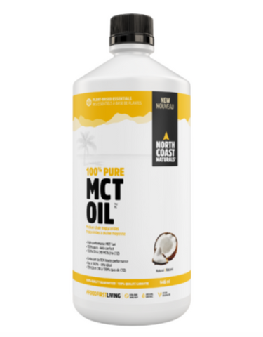 North Coast Naturals 100% Pure MCT Oil - Body Energy Club