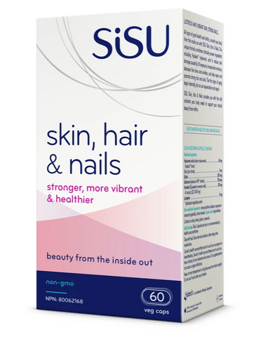 Sisu Skin, Hair and Nails Vegetarian Capsules - Body Energy Club
