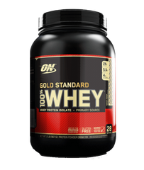 Optimum Nutrition Gold Standard 100% Whey Protein Powder 2lbs Delicious Strawberry