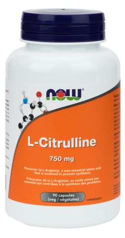 NOW L-Citrulline 750mg | Amino Acids & BCAA's | NOW Foods