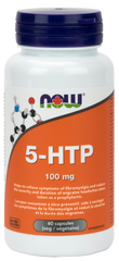 NOW 5-HTP 100mg Vegetarian Capsules | Depression & Anxiety | NOW Foods