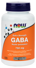NOW GABA 750mg | Depression & Anxiety | NOW Foods