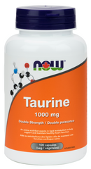 NOW Taurine 1000mg 100 capsules