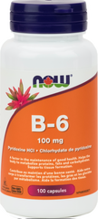 NOW B6 100mg - Body Energy Club