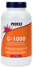 NOW C-1000 (with 100mg Bioflavonoids) | Vitamin C | NOW Foods