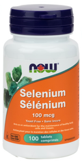 NOW Selenium 100mcg Tablets | Antioxidants | NOW Foods