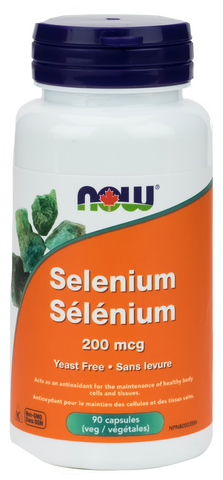 NOW Selenium 200mcg Vegetarian Capsules | Antioxidants | NOW Foods