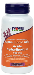 NOW Alpha Lipoic Acid 600mg | Antioxidants | NOW Foods
