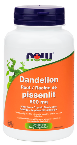 NOW Dandelion Root 500mg | Women's Health | NOW Foods
