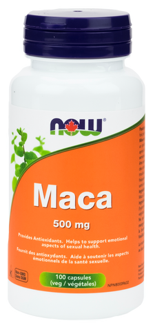 NOW Maca 500mg Capsules | Maca | NOW Foods