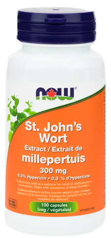 NOW St. John's Wort Extract 300mg | Depression & Anxiety | NOW Foods