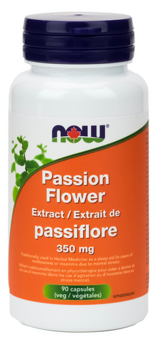 NOW Passion Flower Extract 350mg - Body Energy Club