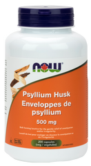 NOW Psyllium Husk 500mg Capsules | Fiber | NOW Foods