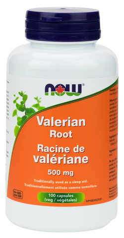 NOW Valerian Root 500mg - Body Energy Club