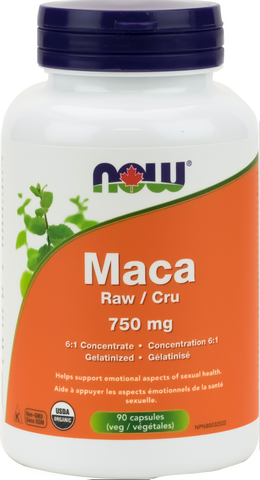 NOW Maca 750mg 90 capsules