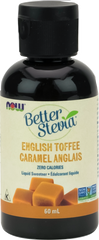 NOW BetterStevia English Toffee Liquid - Body Energy Club