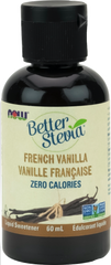 NOW BetterStevia French Vanilla Liquid | Stevia & Other Sweeteners | NOW Foods