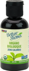 Now Better Stevia Certified Organic Extract | Stevia & Other Sweeteners | NOW Foods