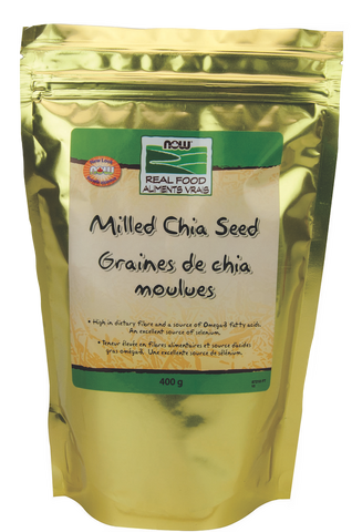 NOW Milled Chia Seeds - Body Energy Club