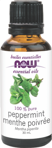 NOW Peppermint Essential Oil - Body Energy Club