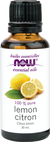NOW Lemon Essential Oil | Essential Oils | NOW Foods