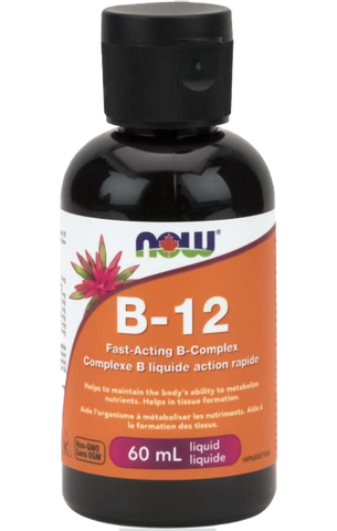 NOW B12 Liquid B-Complex 60ml