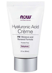 NOW Hyaluronic Acid Moisturizer PM - Body Energy Club