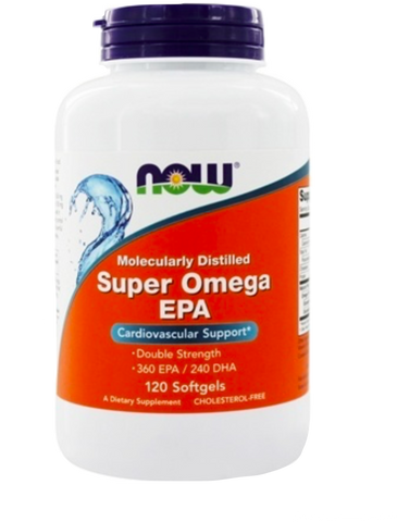 NOW Super EPA 1200mg | Omega 3 Fish Oil EPA / DHA | NOW FOODS